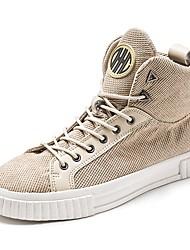 economico -Da uomo Scarpe PU (Poliuretano) Autunno Inverno Comoda Sneakers Per Casual Nero Beige
