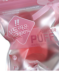 cheap -1 pcs Powder Puff Sponge Heart Shape Women Face Natural Daily Makeup