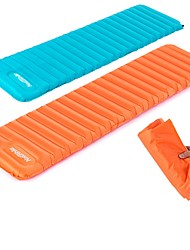 cheap -Naturehike Inflated Mat Sleeping Pad Moistureproof/Moisture Permeability Ultra Light (UL) Inflated Folding Squeezing Thick Chinlon TPU