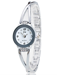 cheap -Women's Casual Watch Fashion Watch Simulated Diamond Watch Chinese Quartz Chronograph Stainless Steel Band Casual Elegant Christmas