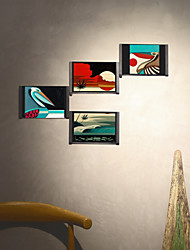 cheap -The world's first magical picture frame. 6 inch black 4 sets. you can get 38277 kinds of decorative shapes