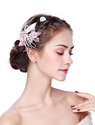 Недорогие -искусственный цветок из перьего сплава 2шт головной убор классический женский стиль