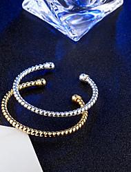 Naisten Rannerenkaat Rannekkeet Vintage Tyylikäs Titaani Circle Shape Korut Käyttötarkoitus Häät Kihlaus Päivittäin Seremonia