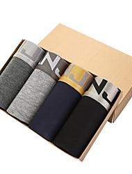 billige Undertøy og sokker til herrer-Herre Super Sexy Boksere Ensfarget 4 deler