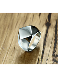 cheap -Men's Band Rings Vintage Personalized Titanium Steel Geometric Jewelry For Wedding Party