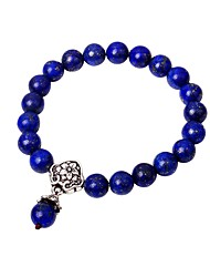cheap -Women's Onyx Strand Bracelet - Casual Fashion Circle Dark Blue Bracelet For Going out