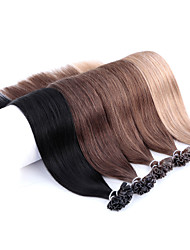 cheap -Neitsi 20'' 50g 1g/s Pre bonded Keratin Nail Tip Human Hair Extensions Colourful Highlight Remy Hair