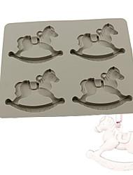 Недорогие -Файлы cookie Круглый Шоколад Для получения льда Для шоколада конфеты силикагель Инструмент выпечки