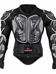 abordables -WOSAWE BC202-1 Équipement de protection Équipement de protection moto Unisexe Adultes PE EVA Extérieur Antichoc Équipement de Sécurité