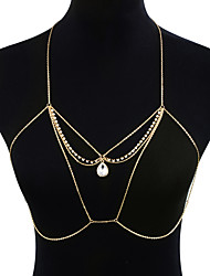 cheap -Body Chain - Women's Gold Statement Fashion Gothic Geometric Body Jewelry For Gift Daily