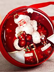 круглый металлический держатель с подарочными коробками-6шт. свадебные сувениры