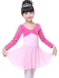 cheap -Ballet Bottoms Performance Chiffon High Skirts