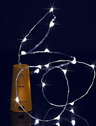 preiswerte -BRELONG® 1.5 Leuchtgirlanden 15 LEDs Warmes Weiß / Weiß / Blau Wasserfest <5 V 1pc