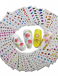 abordables -30 pcs Mode Stickers / Set / Autocollants 3D pour ongles Quotidien