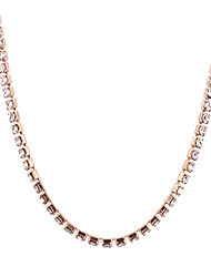 cheap -Women's Long Chain Necklace - Simple, Fashion Gold, Silver Necklace For Party