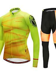 Недорогие -CYCOBYCO Велокофты и лосины Муж. Длинный рукав Велоспорт Брюки Джерси Велоспорт Колготки Верхняя часть Наборы одежды Одежда для велоспорта