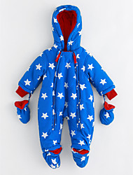 cheap -Baby Stars One-Pieces,Cotton Winter Long Sleeves Blue