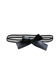 cheap -Polyster Wedding Garter with Bowknot Leg Warmer Wedding Special Occasion