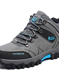 abordables -Homme Chaussures Similicuir Automne Confort Chaussures d'Athlétisme Marche pour Décontracté Gris Vert Kaki