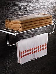 baratos -Prateleira de Banheiro Modern Aço Inoxidável 1 Pça. - Banho do hotel Casal (L200 cm x C200 cm)