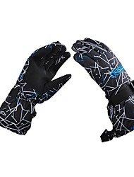 cheap -Ski Gloves Men's Full-finger Gloves Keep Warm Waterproof Windproof Cloth Coating Ski / Snowboard Hiking Outdoor Exercise Cycling / Bike