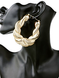 Women's Hoop Earrings Oversized Statement Jewelry Other Material Jewelry For Casual