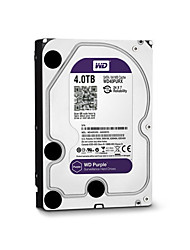 economico -WD® Hard disk WD40PURX 4TB(IntelliPower 64MB Cache) purple drive 3.5-inch HDD surveillance for CCTV NVR per Sicurezza sistemi 18*13cm