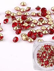 Недорогие -Украшения для ногтей Гель для ногтей Хрусталь Мода Высокое качество Повседневные Дизайн ногтей