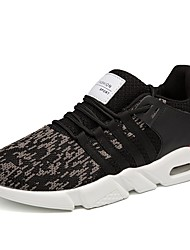 Pánské Obuv Tyl Jaro Podzim Pohodlné Atletické boty Chůze Pro Sportovní Bílá Černá Námořnická modř
