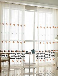 preiswerte -Schlaufen für Gardinenstange Ösen Schlaufen Zweifach gefaltet plissiert Window Treatment Böhmische, Stickerei Blumen Schlafzimmer
