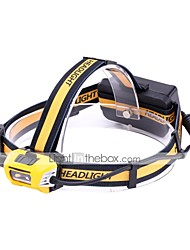 cheap -U'King Headlamps LED 2400 lm 1 Mode LED Portable Durable Camping/Hiking/Caving Everyday Use Cycling/Bike Hunting Fishing Black/Yellow