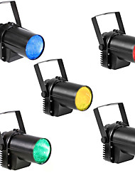 U'King 4pcs LED Stage Light / Spot Light Spot Lights Auto 5W Professional High Quality for Party Stage Decorate wedding scene Wedding