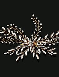 cheap -Rhinestone Alloy Flowers Hair Clip Hair Claws with Faux Pearl 1pc Headpiece