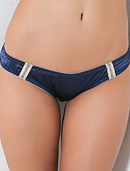 halpa -Naisten Keskipaksu Ultra seksikkäät pikkuhousut,Pitsi 1kpl Punastuvan vaaleanpunainen Laivaston sininen Harmaa