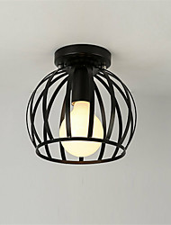 cheap -Vintage Industrial Ceiling Light Style Metal Cage Shade Art Painted Finish