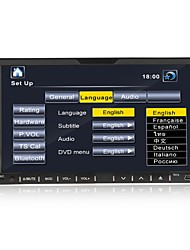 7-inch 2 Din TFT Screen In-Dash Car DVD Player With USB-iPodBluetoothRDSTV