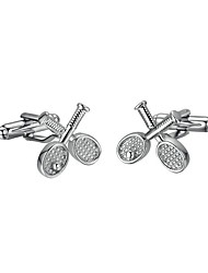 cheap -Other Silver Cufflinks Stainless Steel Casual/Sporty Gift Office & Career Men's Costume Jewelry
