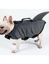 Cachorro Colete Salva-Vidas Roupas para Cães Casual / desportivo Sólido Cinzento Amarelo Ocasiões Especiais Para animais de estimação