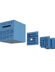baratos -Cubos mágicos / Quebra-Cabeças Labirinto 3D Amigos Clássico Forma Quadrada / 3D Cubic Twist Crianças / Infantil / Adulto Para Meninos Dom