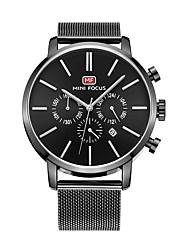 Недорогие -Муж. Наручные часы Нарядные часы Модные часы Повседневные часы Кварцевый Горячая распродажа Нержавеющая сталь Группа На каждый день