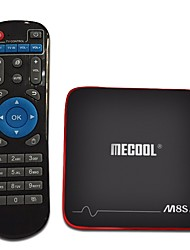 economico -Mecool M8S PRO W Android7.1.1 Box TV Amlogic S905W UP TO 2.0 GHz, Quad core ARM Cortex-A53 2GB RAM 16GB ROM Quad Core