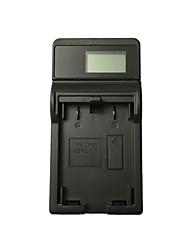 ricaricabile 1l caricabatteria da auto lcd usb per canon nb-1l h ixus 500 430 v3 400 batteria - nero