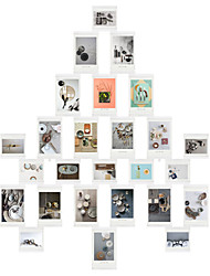 cheap -Modern/Contemporary PU Leather ABS Painting Picture Frames Wall Decorations, 26pcs