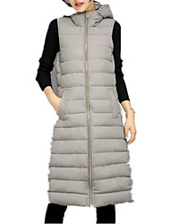cheap -Women's Long Vest - Solid