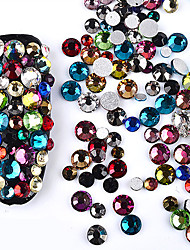 cheap -700 Nail Art Decoration Rhinestone Pearls Makeup Cosmetic Nail Art Design
