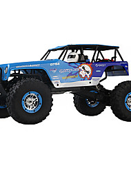 Carro com CR WL Toys 10428-A 2.4G Off Road Car Alta Velocidade 4WD Drift Car Carroça 1:10 Electrico Escovado 30 KM / H Controlo Remoto