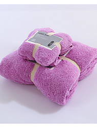 Fresh Style Wash Cloth,Solid Superior Quality 100% Polyester Towel