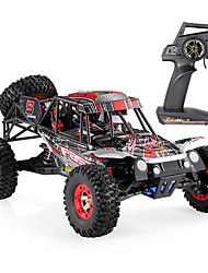 cheap -RC Car WL Toys 12428-C 2.4G Off Road Car High Speed 4WD Drift Car Buggy 1:12 Brush Electric 50 KM/H Remote Control Rechargeable Electric