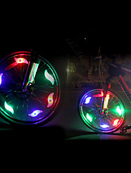 cheap -Safety Lights LED LED Cycling Gleam CR2032 200 Lumens CR2032 Battery Colorful Red Blue Green Cycling/Bike