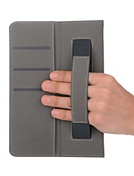 Solid Pattern Leatherette Case with Hand Holder for Huawei MediaPad T3 10 9.6 inch Tablet PC